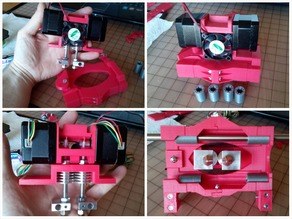 Micro DUAL Extruder - Quick-Fit