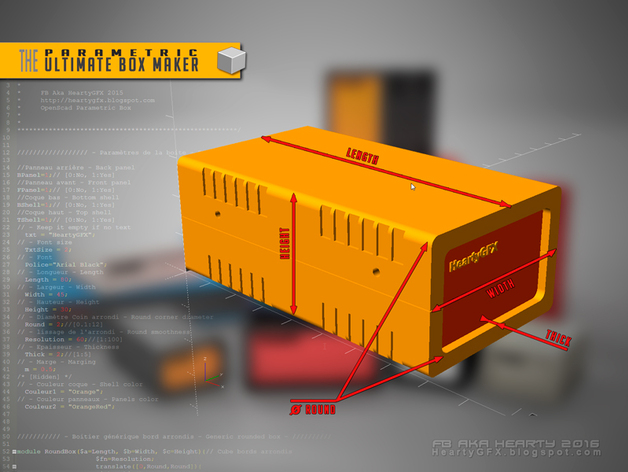 the ultimate box maker by heartman thingiverse