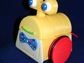 Tyree--the Smiling, Tail Wagging Robot