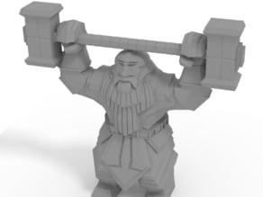 Dwarven Paragon Statue