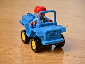 Jeep Lego Duplo brick