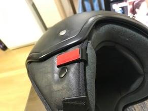 Bluetooth receiver clip for helmet