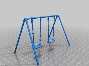 ブランコ(Swing)3Dデータ