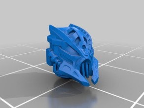 Bionicle style heads for Chaos Space Warriors