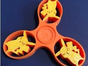 pikachu print in place fidget spinner