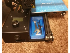 Tool tray for the Creality Ender 2