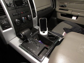 Samsung S4 Dodge Ram Cup-Holder Stand