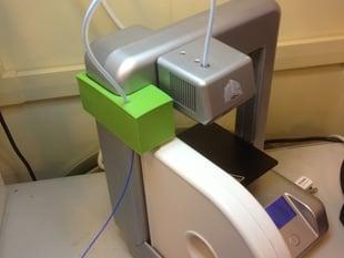 Cube 3D Printer bulk filament spool adapter