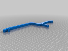Led Strip Holder with invisible wiring for Prusa i3 MK2