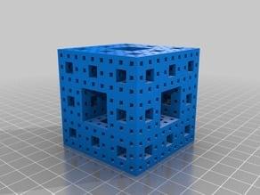 Third Iteration Menger Sponge