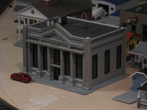 HO Scale Bank