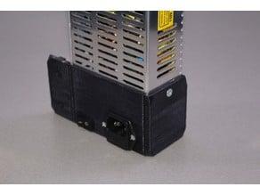Prusa i3 MK2S PSU Cover for 30x30 extruded aluminum profile