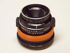 TaoAdapter for Rolleiflex SL26 on Sony E-mount cameras
