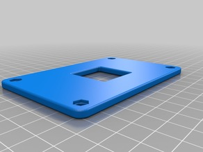 Backplate for AM4 AMD CPU