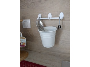 Wall Rail for cutlery stand