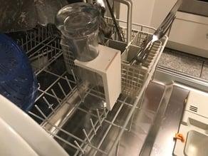 Weizenglashalter für die Spülmaschine