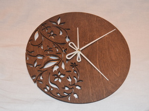 Hands for Laser cut clock (for thing 522752)
