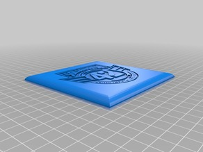 Squadron 42 Coaster with Rounded Edges