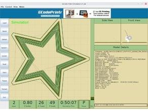 GCode Print Simulator