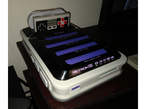 Retron 5 Controller Holder for NES and SNES