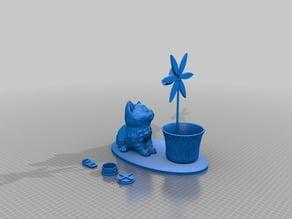 Kitten Planter- Nazraele/3DWithUs Remix-Bank