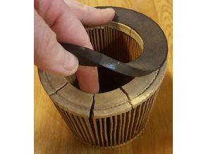 Kärcher paper filter support
