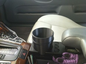 Cup Holder Adapter for BMW vehicle