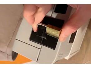 Adhesive various door locker