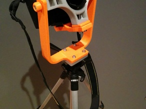 Nikon D70 stand for 360° picture shooting - test version -