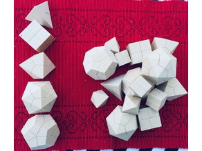 Platonic solids (Christmas Edition)