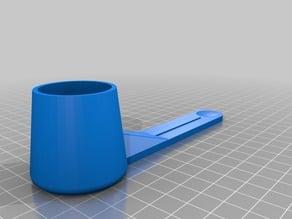 Long Keurig Reusable Filter Scoop UPDATED V3