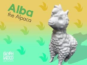 Alba the Alpaca