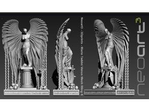 Mario Taddei Venus Mech Wing Statue v8 - print demo Hires Big