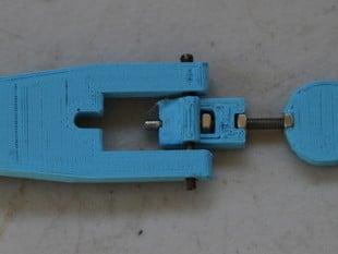 Adjustable Extruder Latch