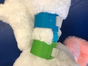 Knee Brace with Hinges