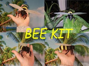 Bee kit 1 and 2 with folding wings
