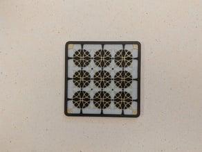 Circle Pattern Coaster