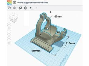 Dremel 200 Base for Smaller 3D Printers