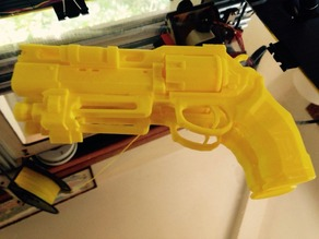 Destiny Legendary Hand Cannon Fatebringer 1:1 Scale (Printable/Repaired)