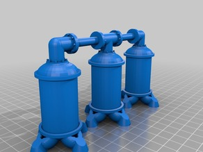 28mm Aqua Tanks