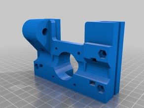 Vertical x-axis for MendelMax with TR8 lead screw