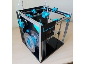 LightBlue 3D printer
