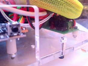 Alternate placement of MakerBot Safety Cutoff Switch Kit
