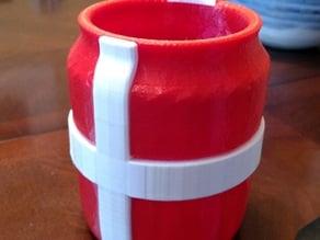 Nordic Cross Tip Jar