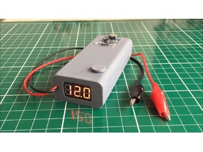 Portable DC Power Supply with Adjustable Voltage