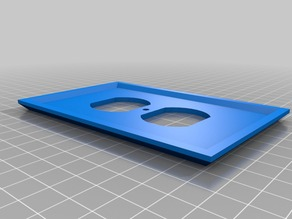 Test wall plate