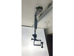 Adjustable Overpod for close up filming.