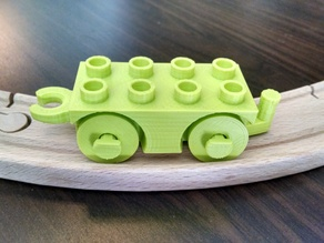 Duplo Train for Wood Tracks