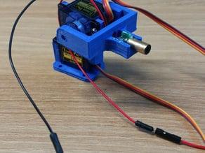 Laser gun bracket