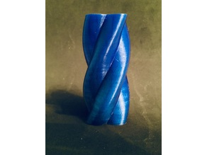 Double Twisted Tapered Vase